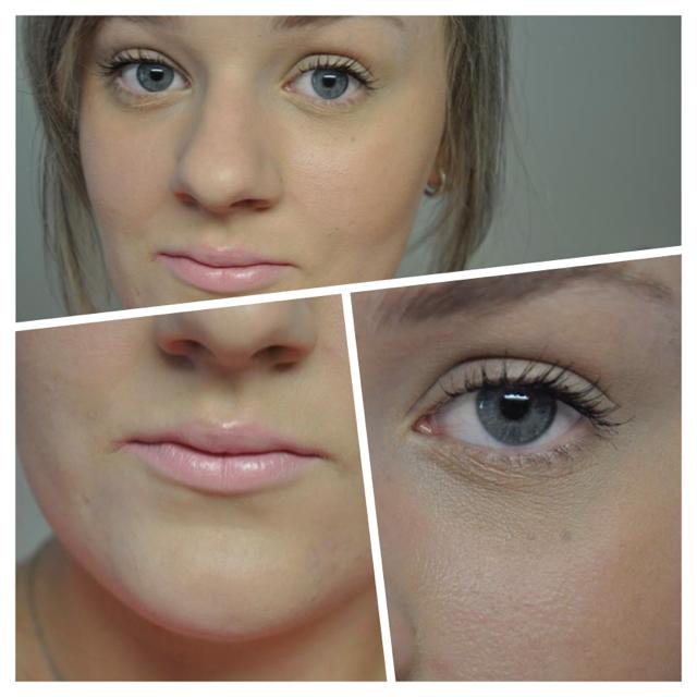 Do you guys like this minimal makeup look I created?