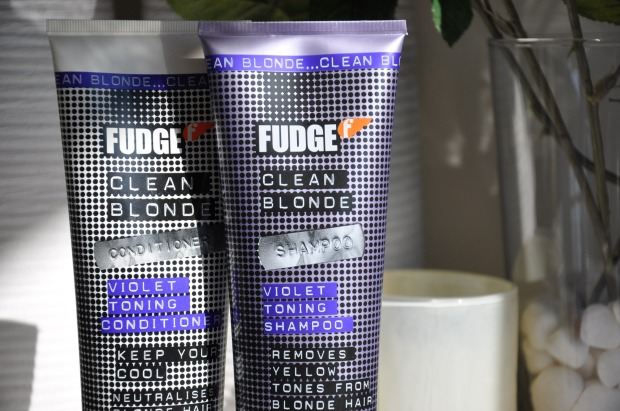 fudge violet toning shampoo and conditioner  review