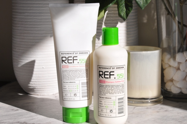 ref. repair shampoo and conditioner review
