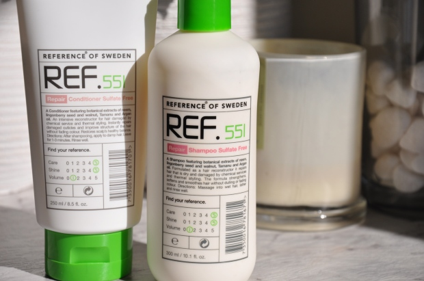 ref. repair shampoo and conditioner
